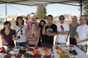 Students visit 8-19-2014 (2)