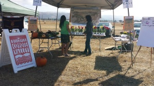 Coyote Valley Education booth